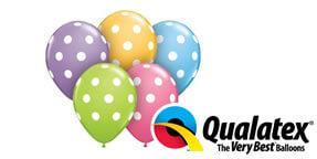 Qualatex Big Polka Dot Assortment 12