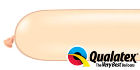 Qualatex 350q Blush Modelling Balloons