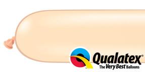 Qualatex 350q Blush Modelling Balloons