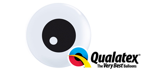 Qualatex Friendly Eyeball Balloons