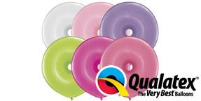 Qualatex Geo Donut 16 Flower Assortment