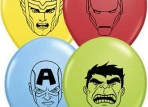 qualatex avenger balloons