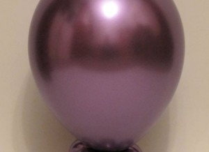 chrome purple round