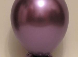 chrome purple round