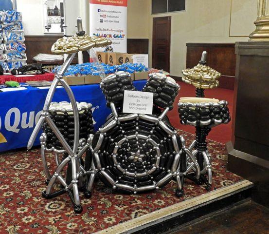 a drum kit 4